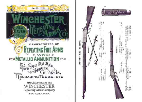 Winchester 1886 April- Arms & Metallic Ammo Catalog