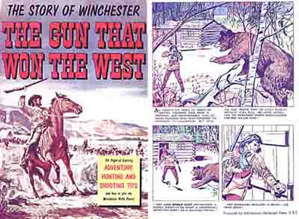Winchester 1955 Arms Comic