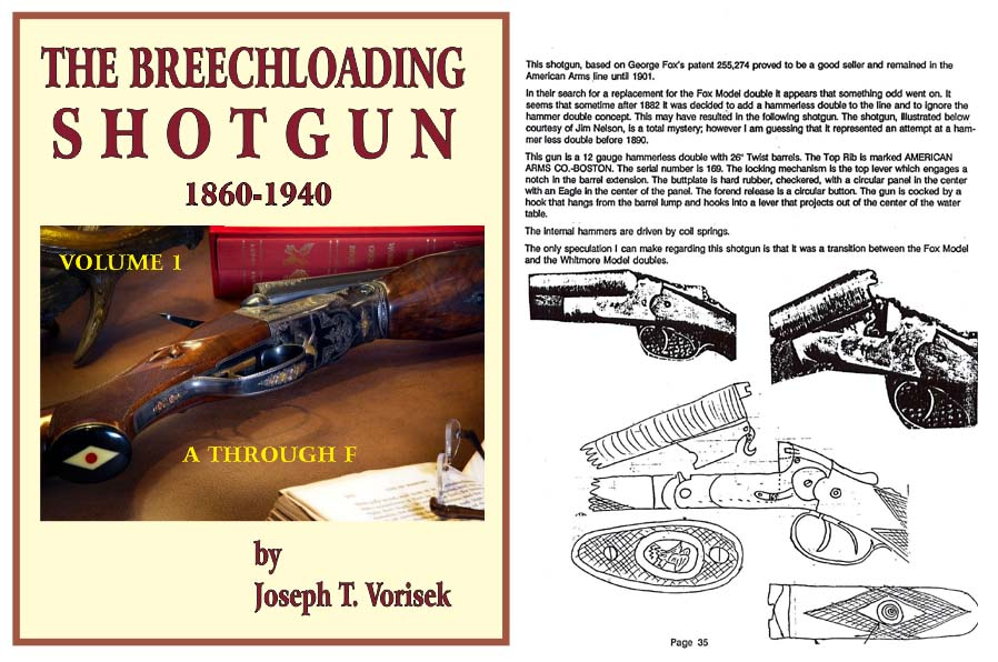 Breechloading Shotguns 1860 -1940 Set of all 3 Volumes - Vorisek