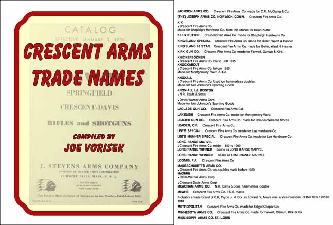 Crescent Arms Trade Brands