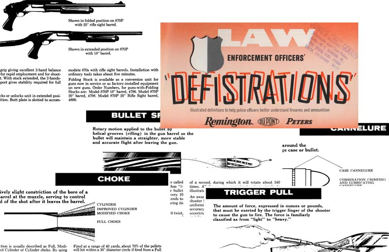 Remington-Peters 1972 Law Enforcement Officers' Defistrations