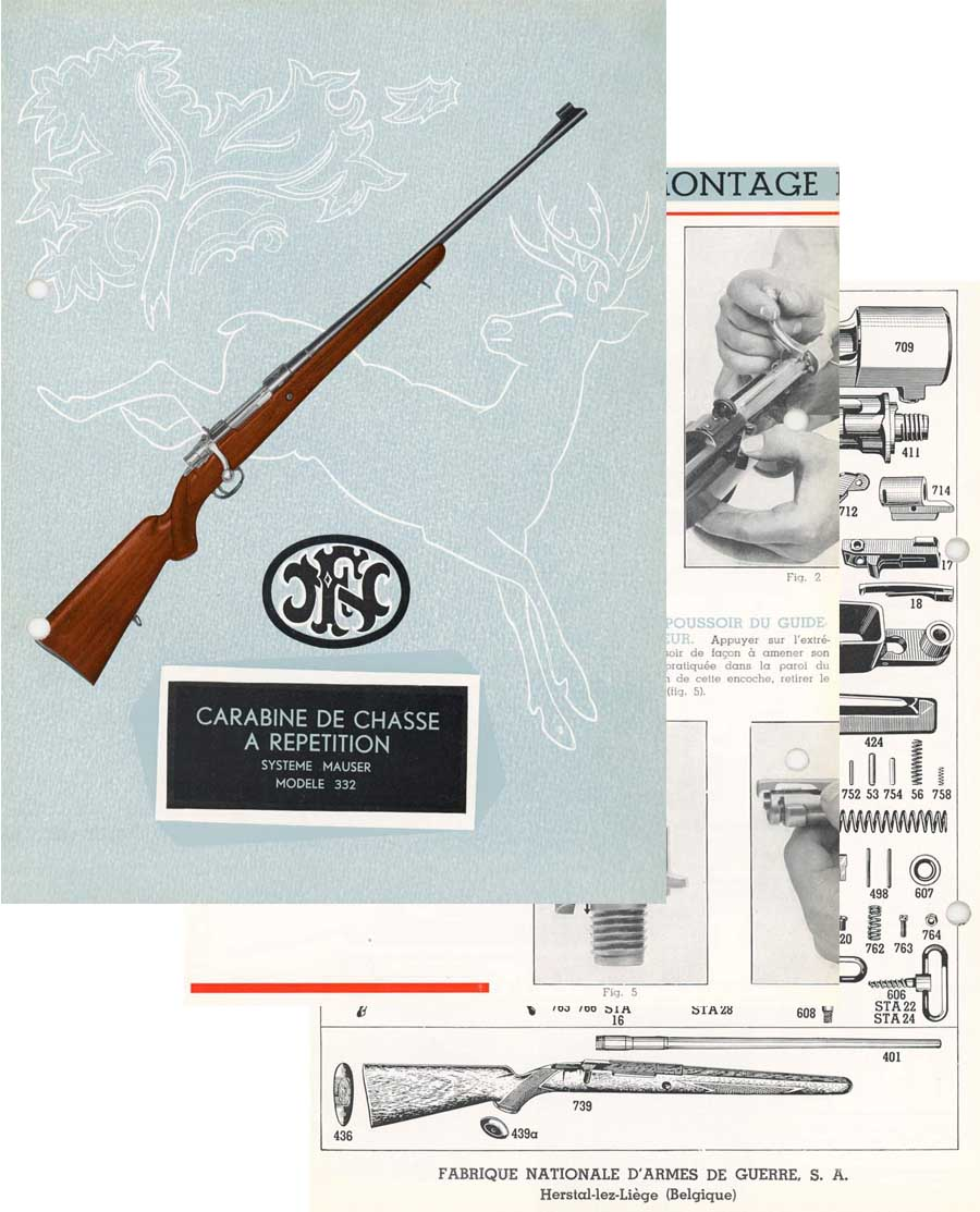 FN Mauser c1964 Manual (French)