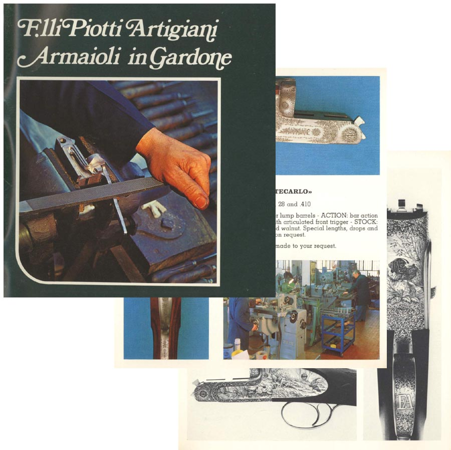 Filli Piotti Artigiani c1973 Armaioli in Gardone (in English)
