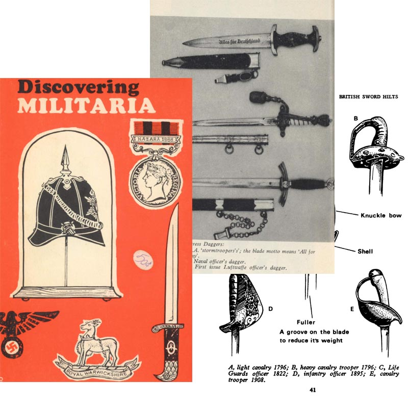 Discovering Militaria 1972 (Collecting, Peter Newman, UK)