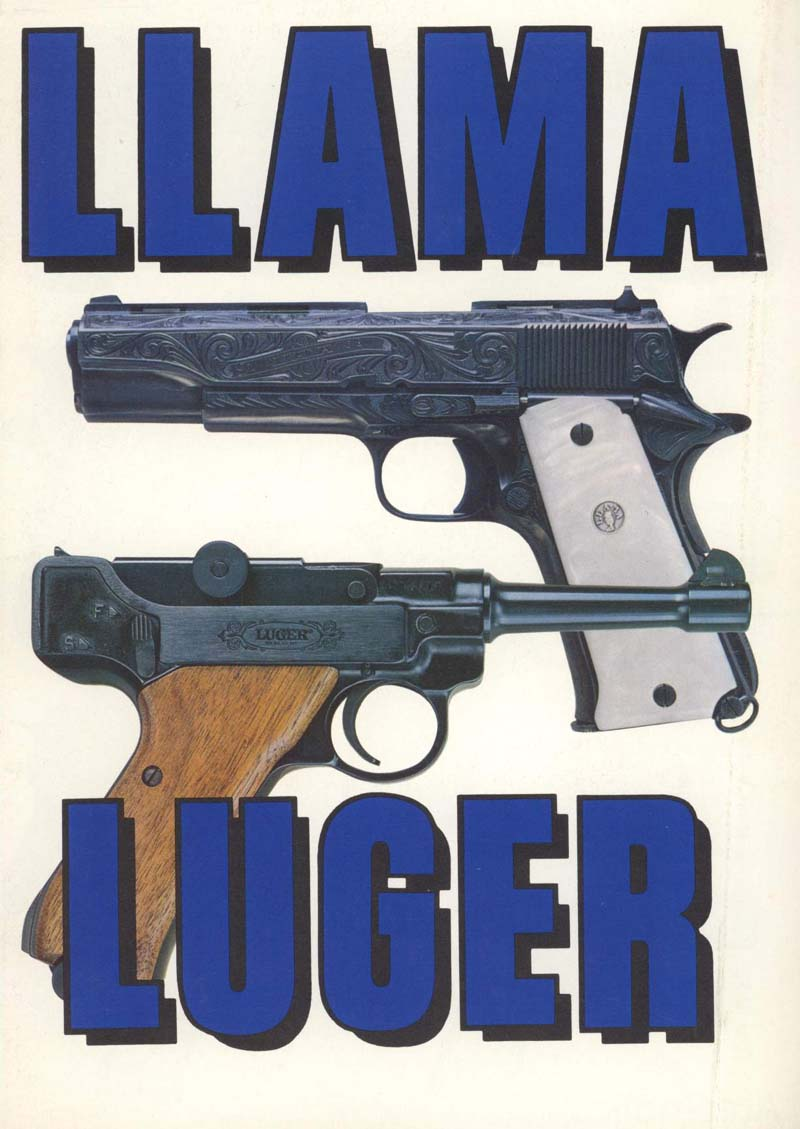 Llama & Luger c1965 Firearms by Stoeger