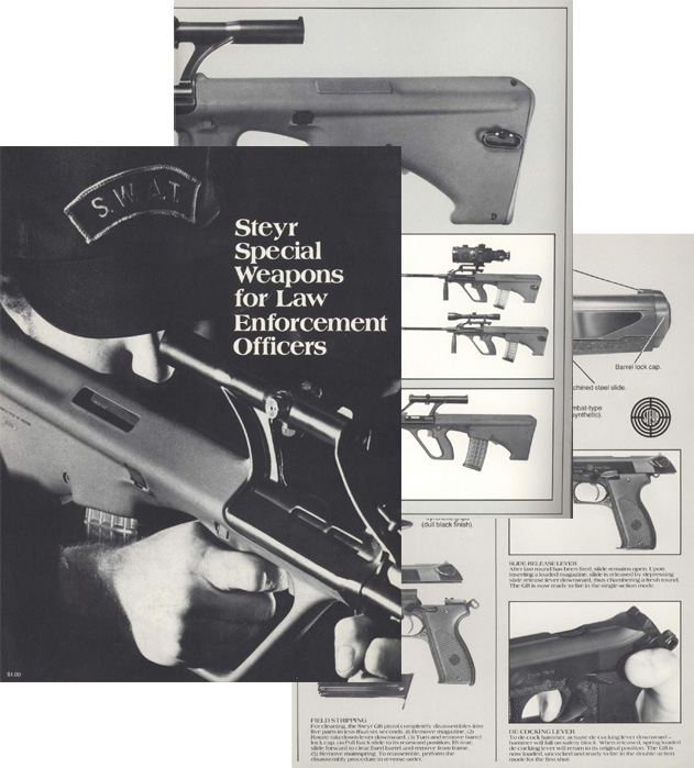 Steyr 1983 SWAT Arms for Police w/prices