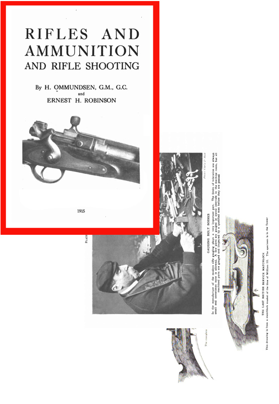Rifles and Ammunition and Rifle Shooting 1915 (UK)