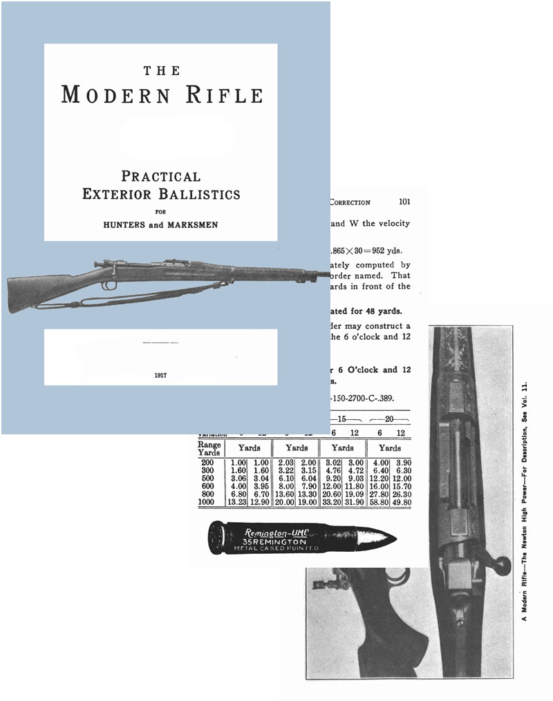 The Modern Rifle 1917 -Practical Exterior Ballistics for Hunters and Marksmen