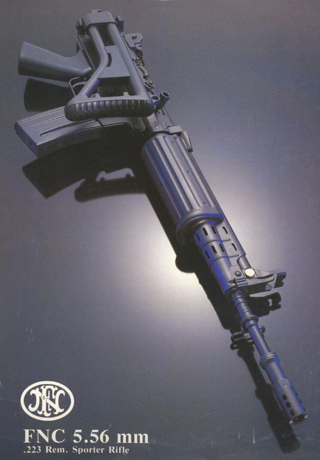 FNC 5.56 mm .223 Rem. Sporter Rifle c1980 Flyer
