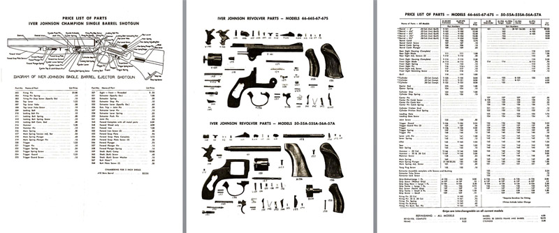 Iver Johnson Schematics Drawings