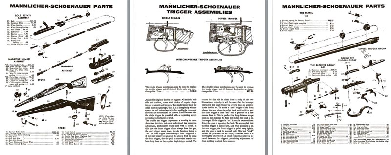 Cornell Publications LLC | Steyr/Mannlicher Schoenauer Catalogs