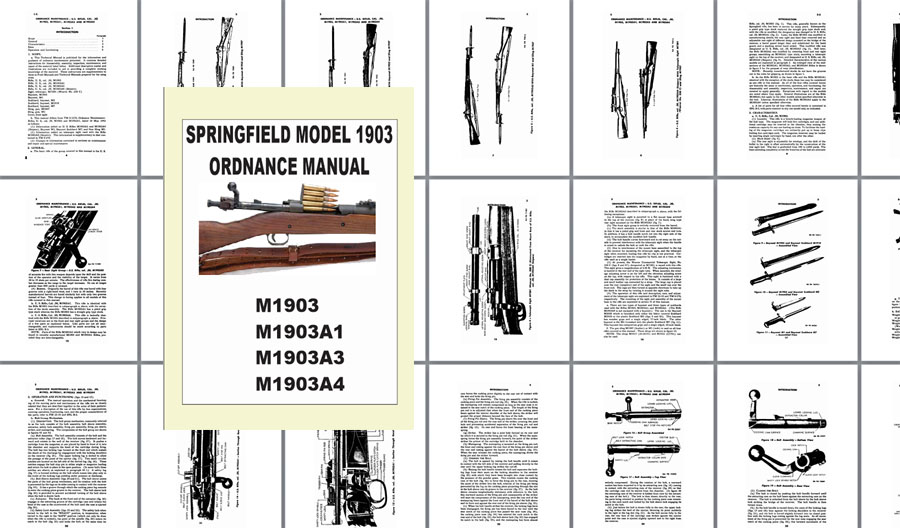 Springfield 1903 Model Ordnance Maintenance Manual