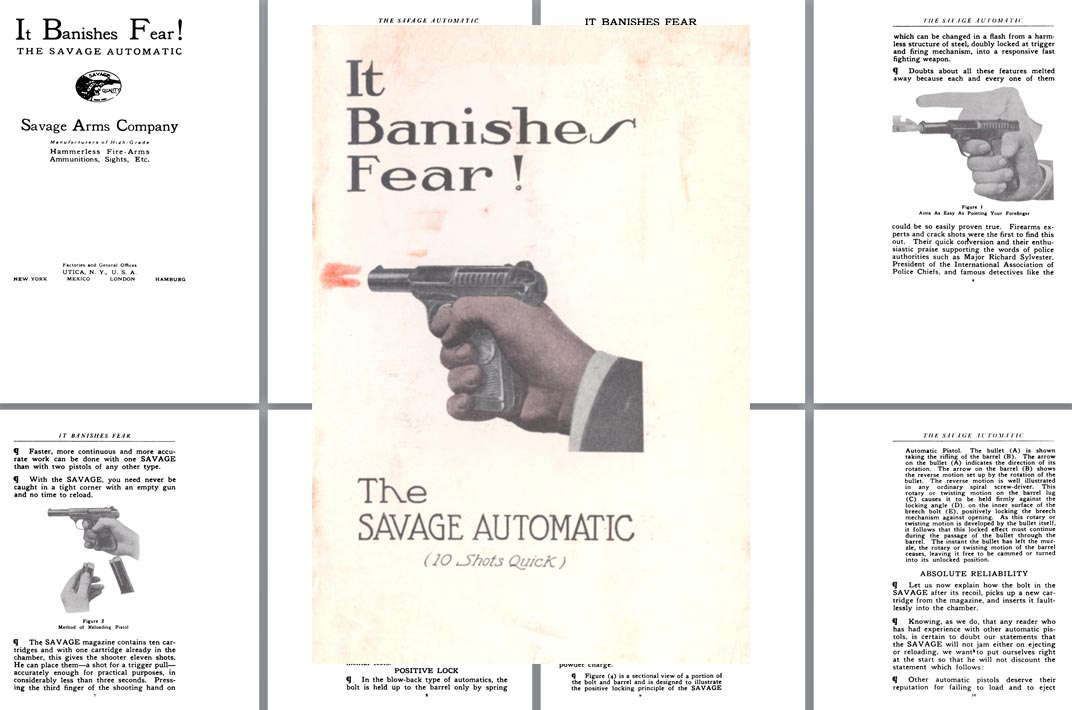 Savage Model 1907 Pistol Owner's Manual