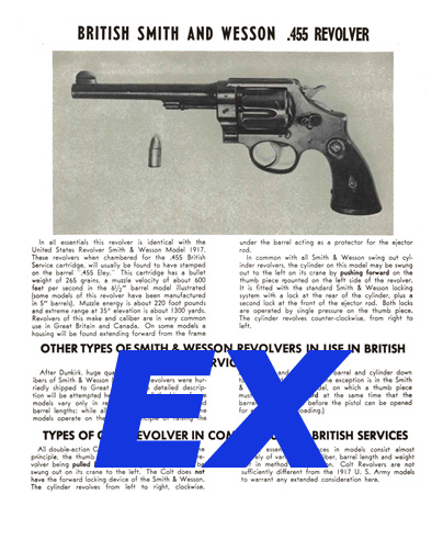 Smith & Wesson (British) .455 Revolver Description