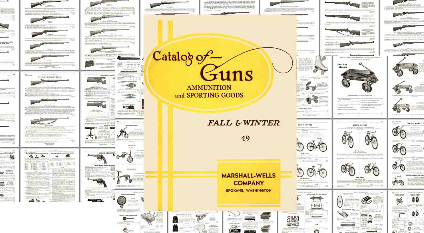 Marshall-Wells Co 1948 Catalog of Guns and Etc. - Spokane WA