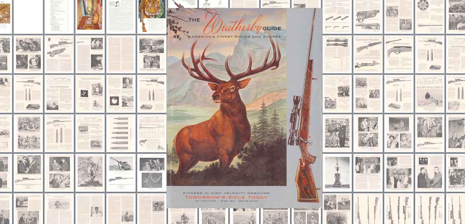 Weatherby 1962-1963 Guide- Tomorrow's Rifle Today