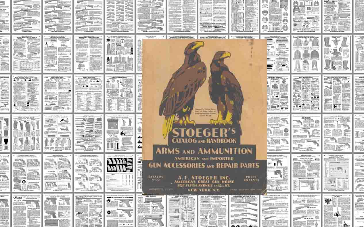 Stoeger 1938 Arms & Ammunition Catalog No. 30
