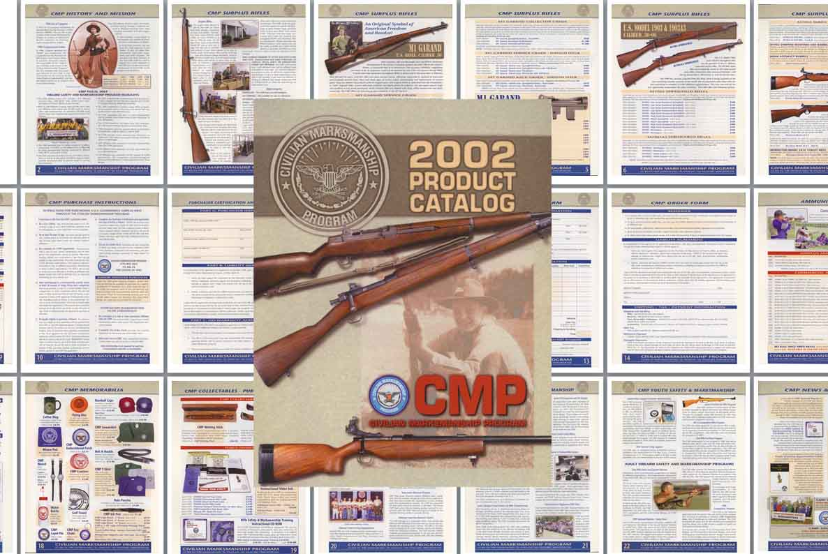 Civilian Marksmanship Program 2002 Catalog