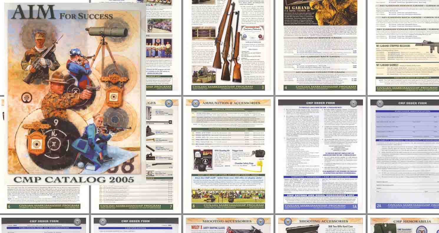 Civilian Marksmanship Program 2005 Catalog