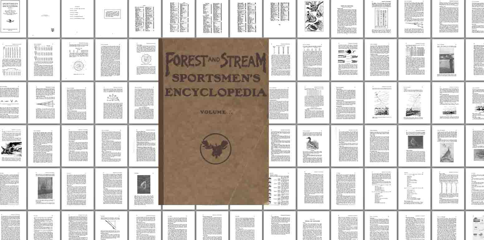 Sportsmen's Encyclopedia- 1923 Forest & Stream