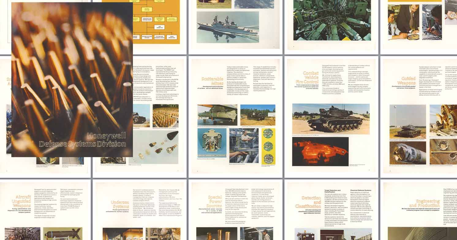 Honeywell 1979 Defense Systems Division Catalog