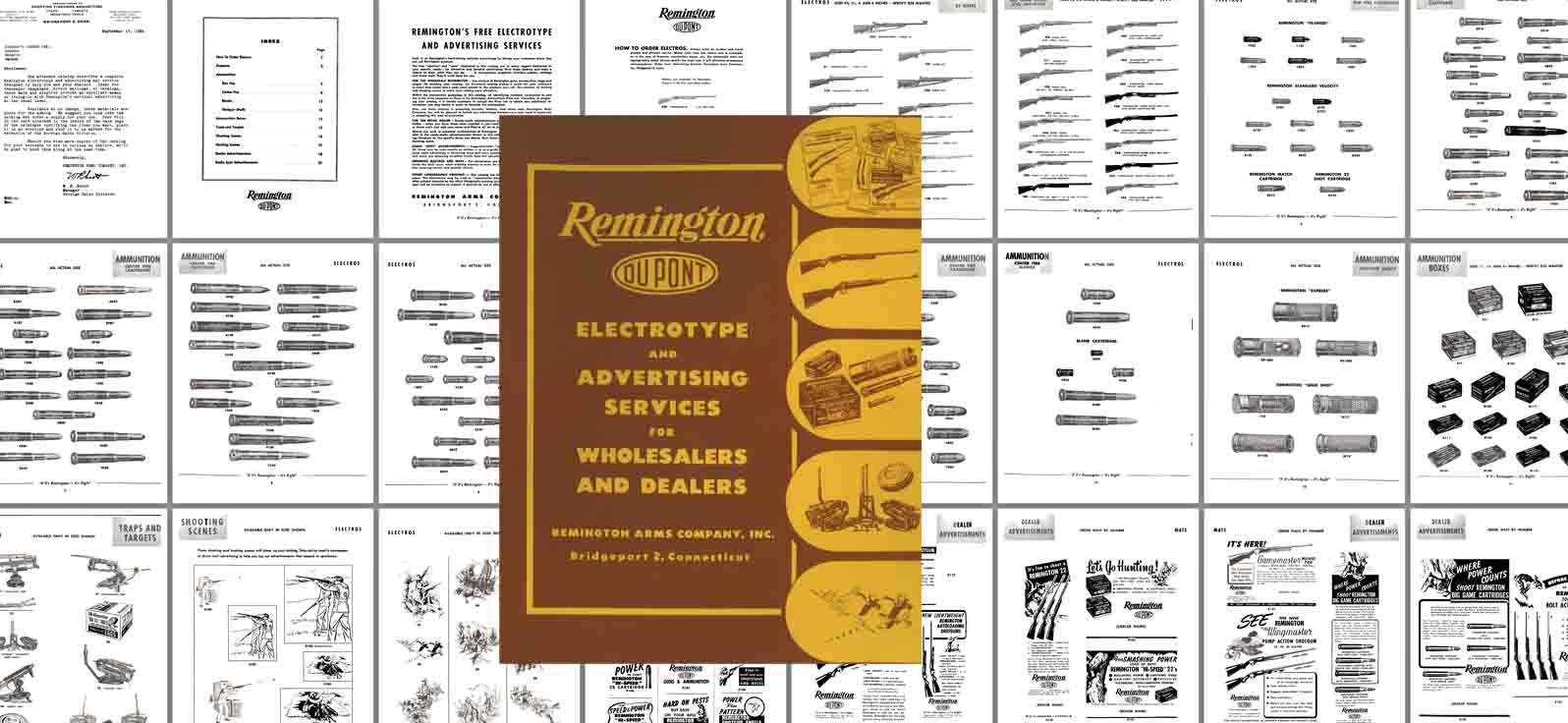 Remington 1954 Advertising Catalog for Dealers