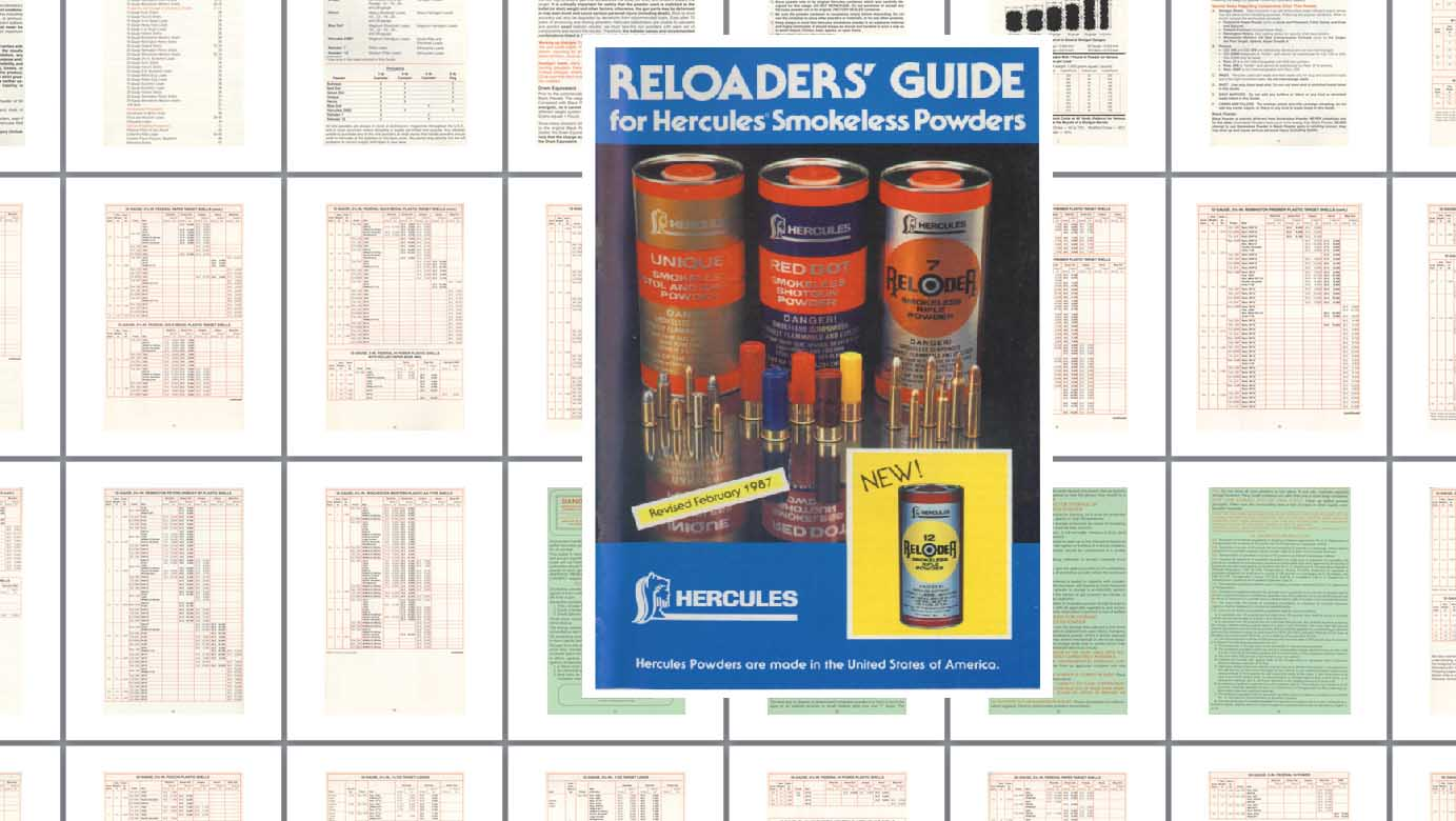 Hercules Powders 1987 Reloaders' Guide
