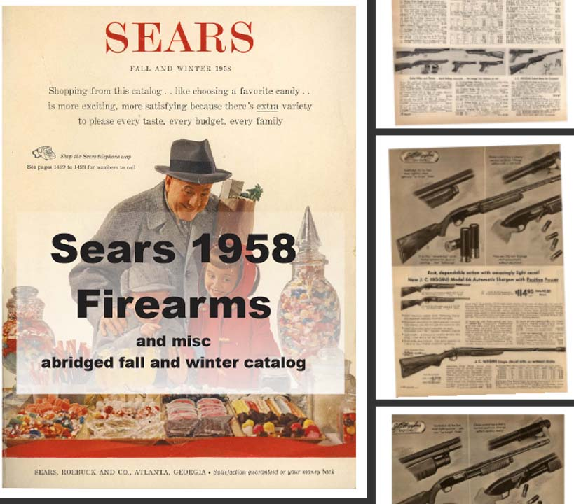 Sears 1958 Guns, Tools, Sports and More
