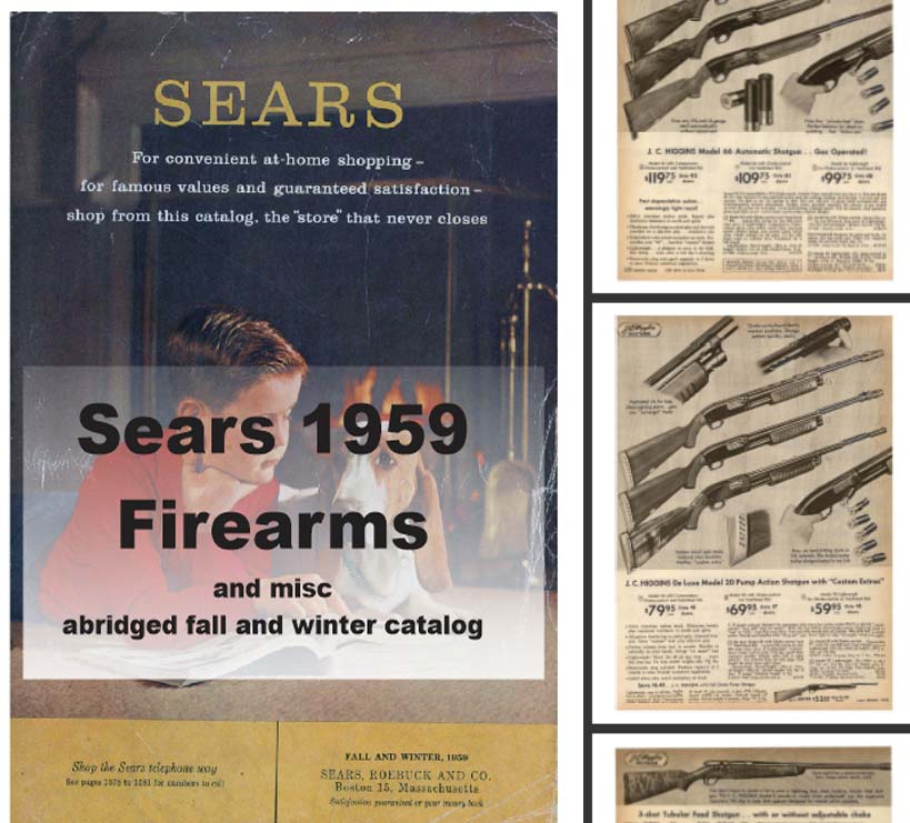 Sears 1959  Guns, Tools, Sports and More