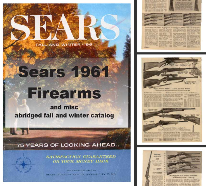Sears 1961 Guns, Tools, Sports and More