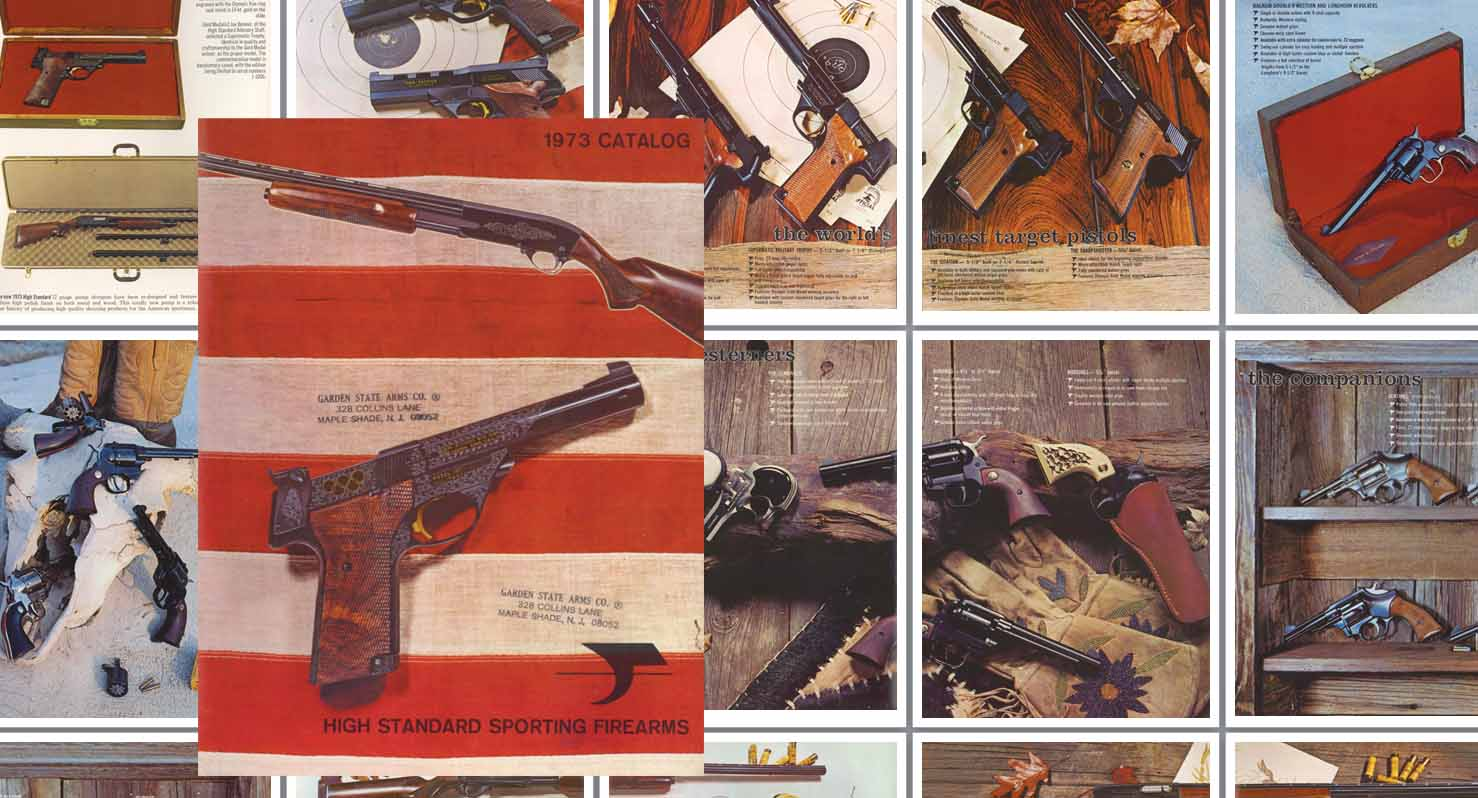 High Standard 1973 Gun Catalog