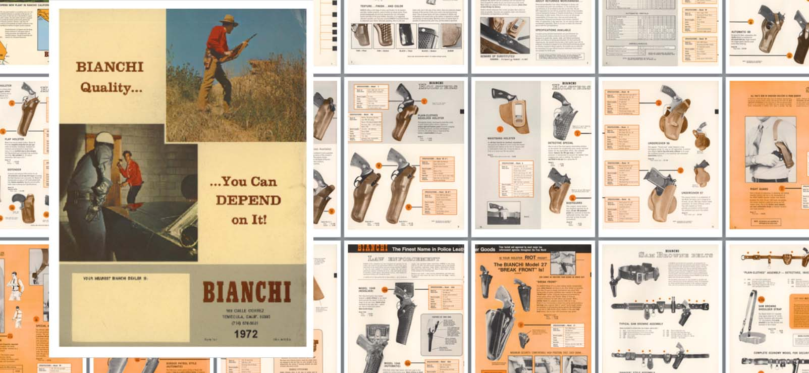 Bianchi 1972 Leather Products