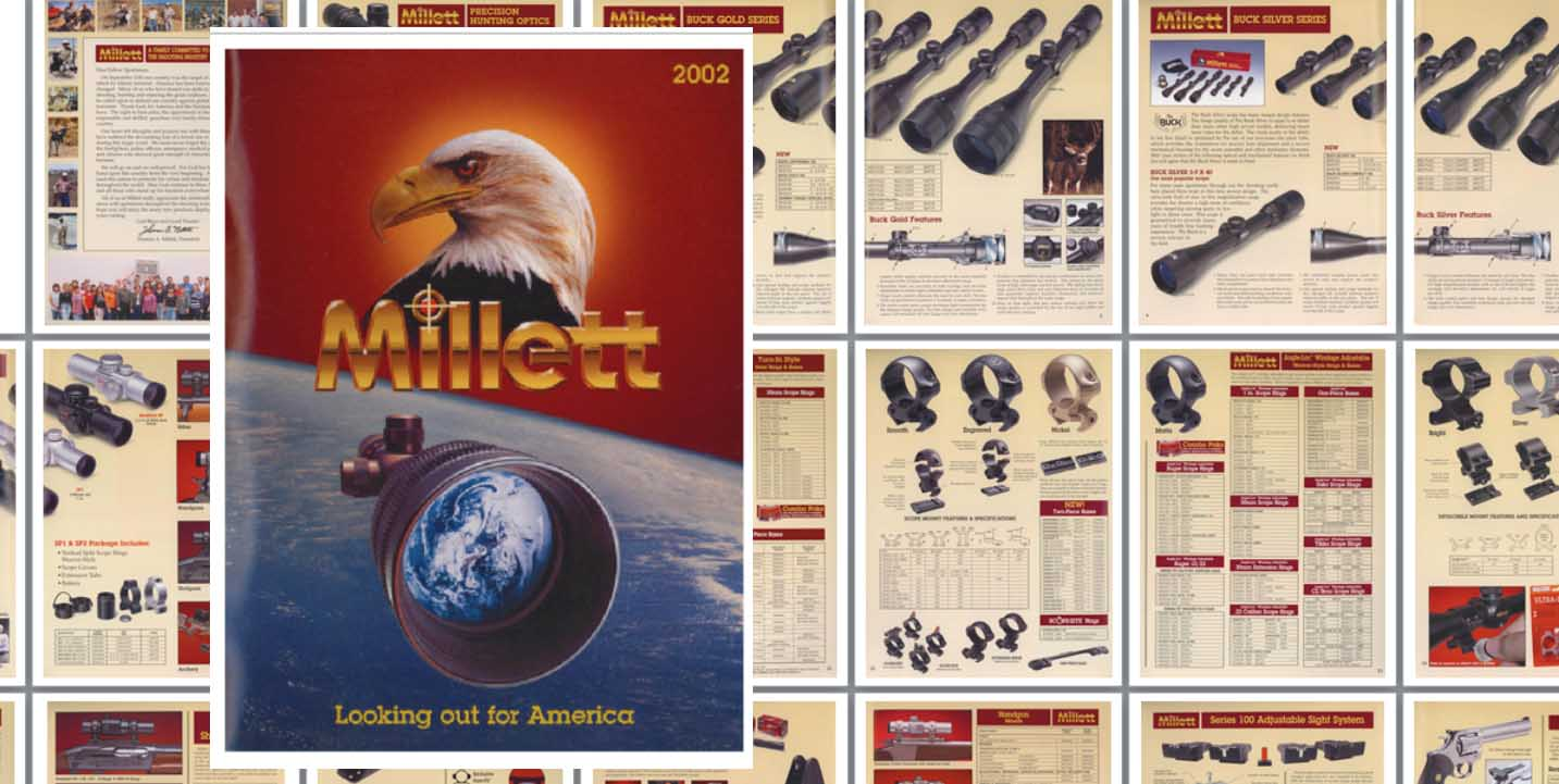 Millett 2002 Gun Sights & Optics Catalog
