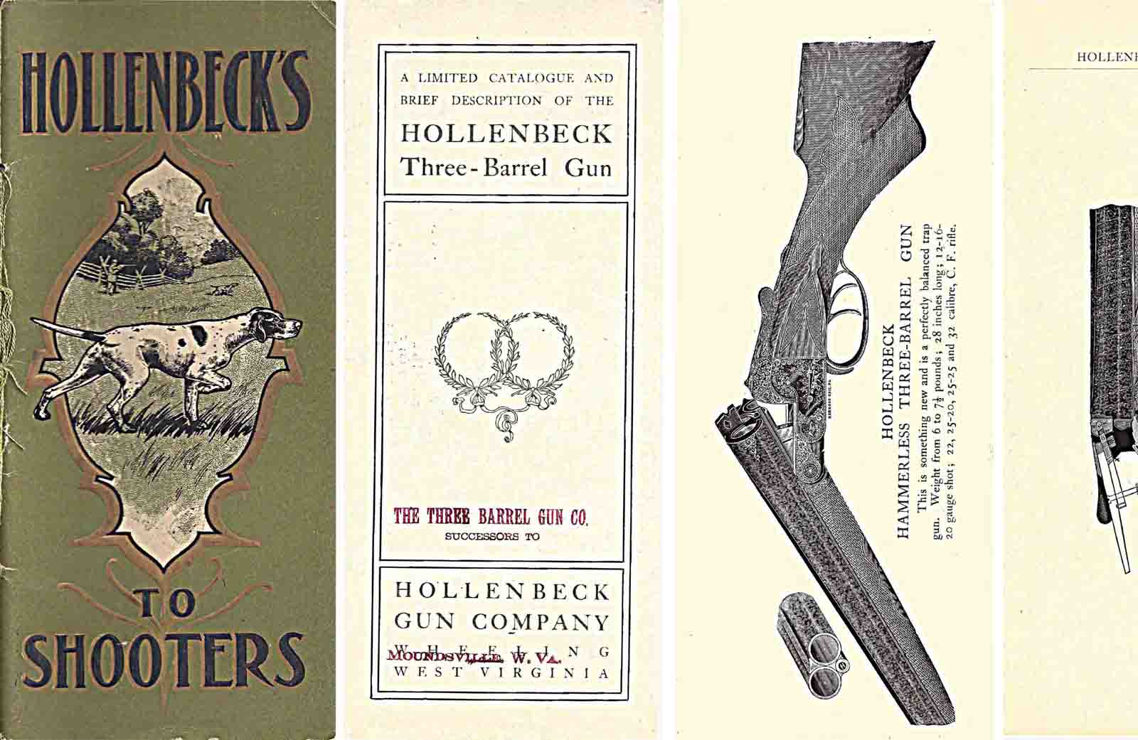 Hollenbeck's pre-1905 Three Barrel and Double Gun Catalog