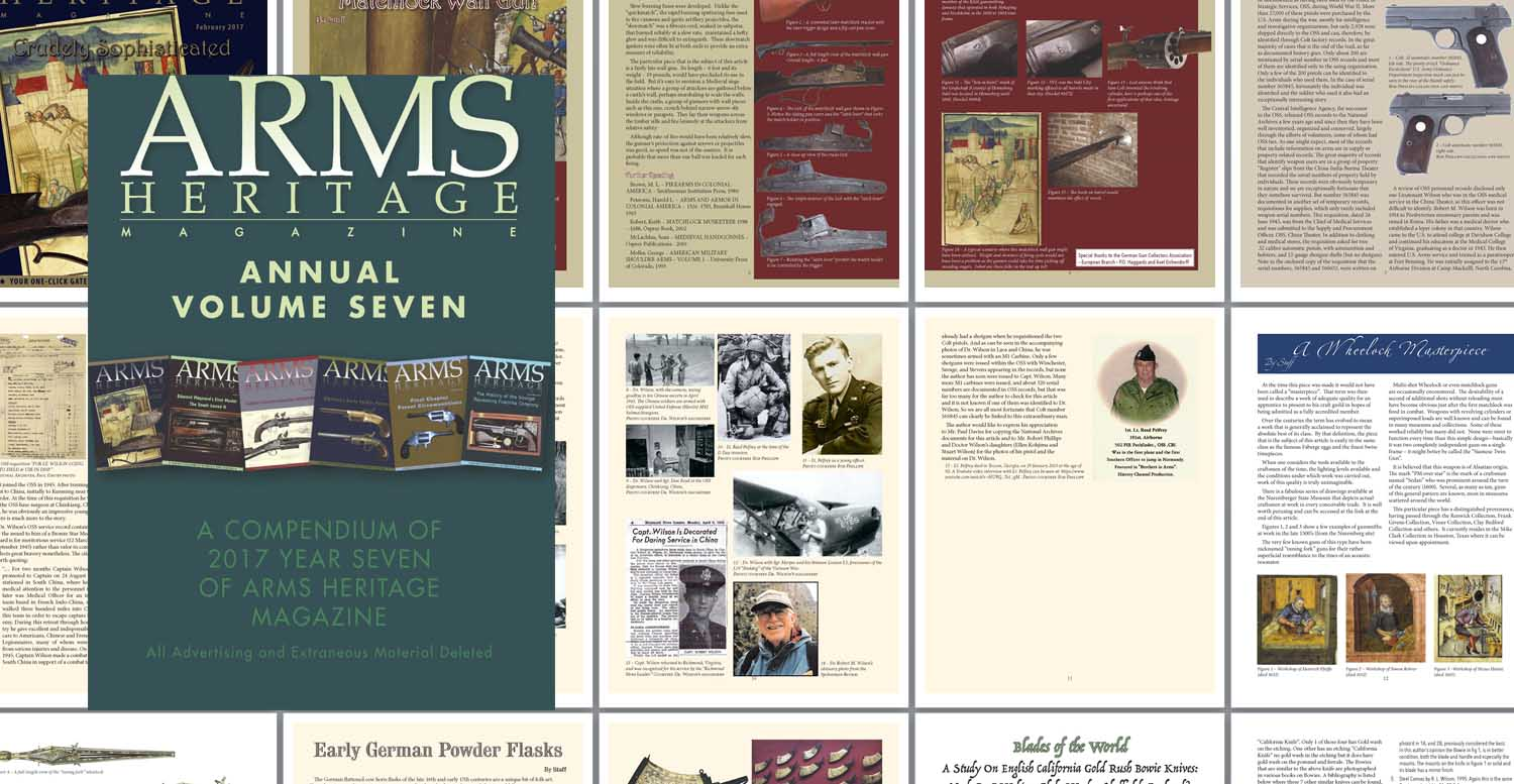 ARMS HERITAGE MAGAZINE - Volume 7, All Six Issues
