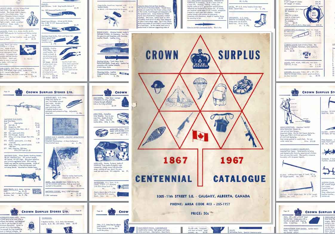 Crown Surplus 1967 Catalog (Canada)