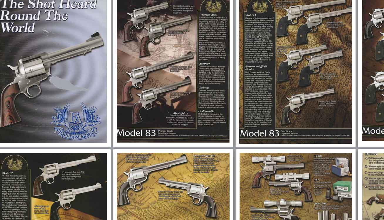 Freedom Arms c2002 Revolver Catalog