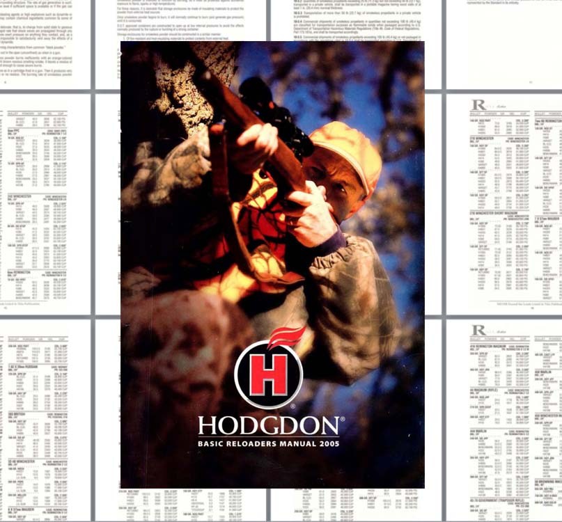 Hodgdon 2005 Basic Reloaders Manual