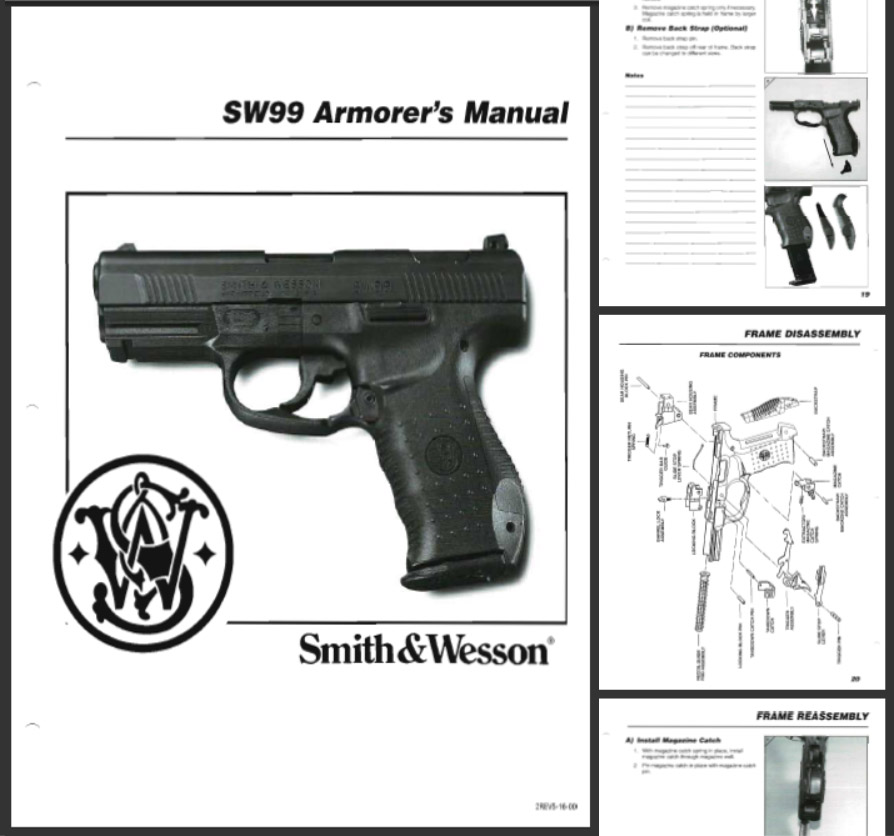 Smith & Wesson SW99 Armorer's Manual 2000