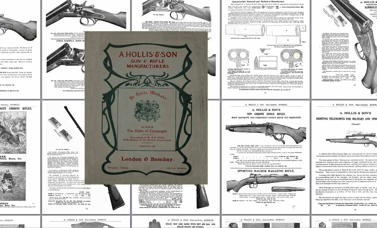 Hollis, A c1915 Guns, Rifles and Handguns- Bombay & London