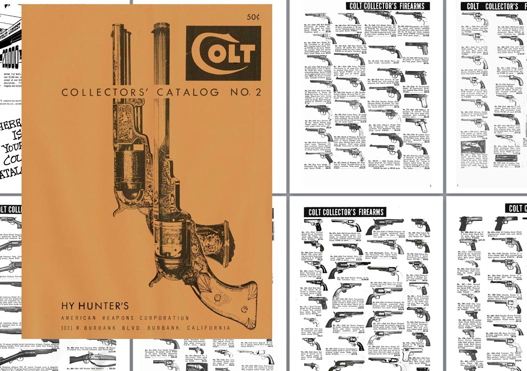 Hy Hunter Colt Collector's No 2 Catalog