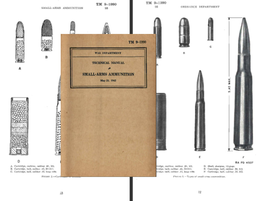 Small Arms Ammunition 1942 Technical Manual TM 9-1990