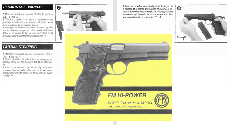 FM Hi-Power Model 90 9mm Manual
