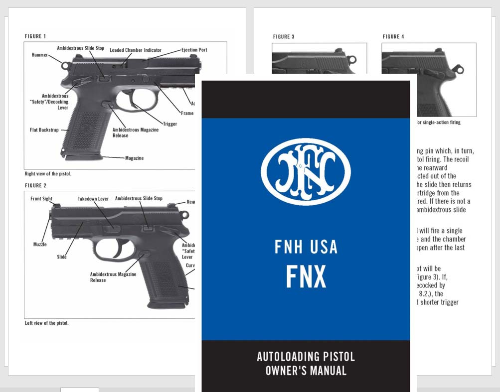 FNH USA FNX Autoloading Pistol Manual