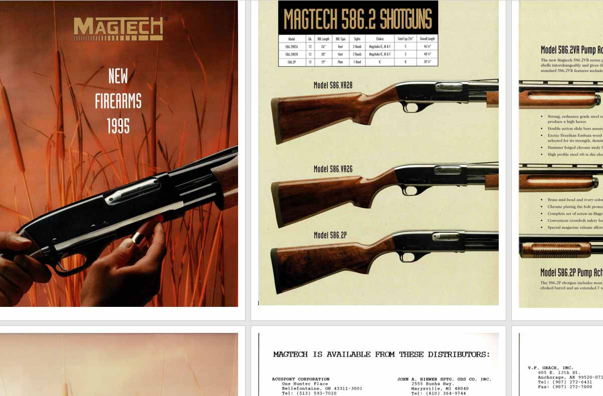 Magtech Firearms 1995 Catalog