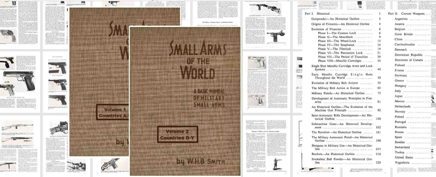 A Basic Manual of Military Small Arms 1957, Small Arms of the World