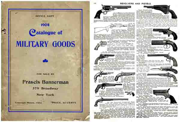 Bannerman 1904 Gun, Cannon and Surplus Catalog