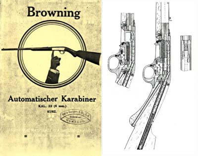 Cornell Publications -Browning 1935 (circa)  22 Auto Rifle Manual