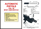 M1911 and 1911A1 .45 cal Auto Service Manual