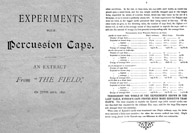 Experiments With Percussion Caps 1891